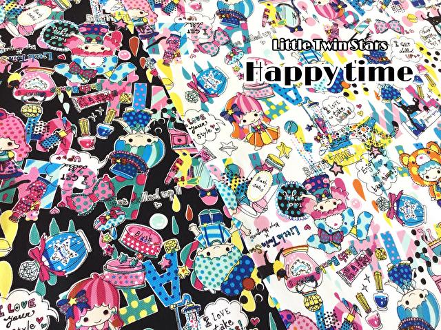 【 20オックスプリント 】 キキ&ララ Little Twin Stars 『 ハッピータイム 』