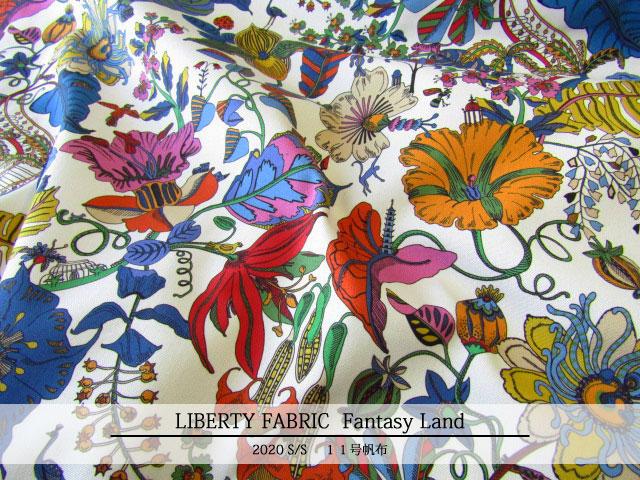 LIBERTY 11号ハンプ 2020*春夏柄 ≪Fantasy Land≫(ファンタジーランド)20-36301100(COC)20A