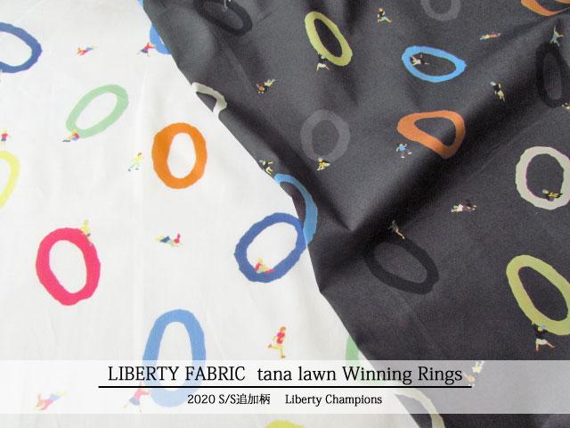 LIBERTY タナローン *2020 春夏追加柄 Liberty Champions*≪Winning Rings≫(ウィニングリングス)DC30367TDD-T20