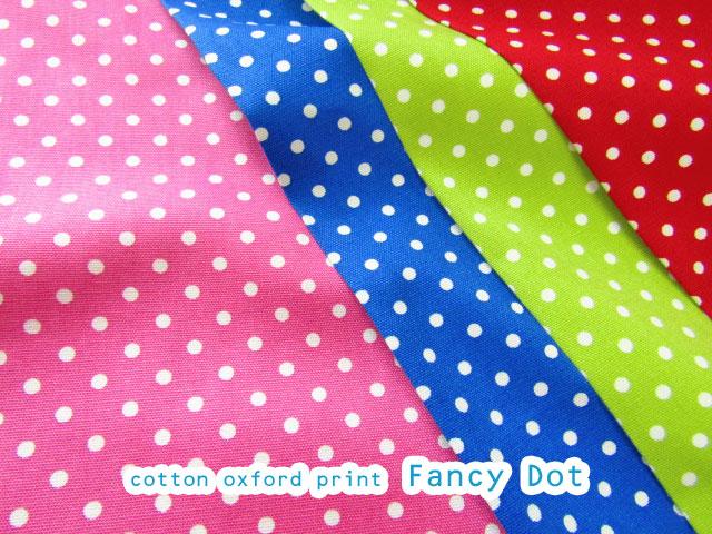 【コットン オックス】 ◆◇Fancy Dots(ファンシー ドット)◇◆