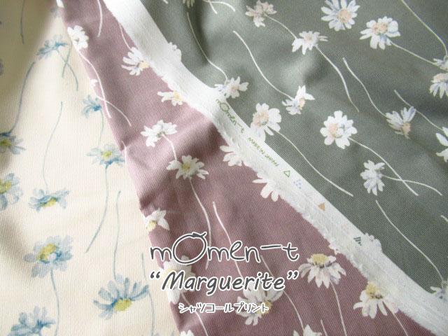 【シャツコールプリント】* momen - t *『Marguerite 』 ( モーメント*マーガレット )