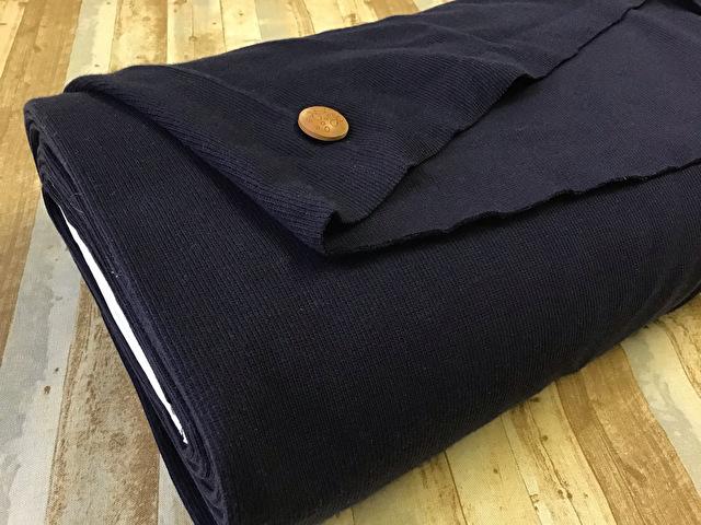 【反売り】スパンテレコ ダークネイビー[ 45cmの輪(90cm幅)×約6.5m巻 ]