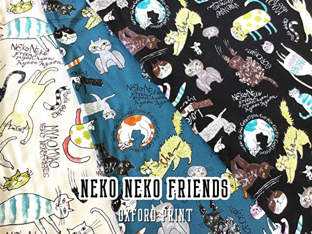【コットン オックス】☆neko neko friend☆