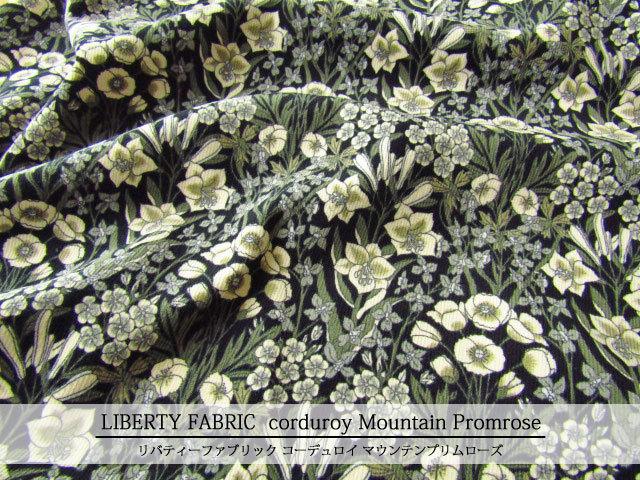 LIBERTY コーデュロイ(コール天) ≪Mountain Promrose≫(マウンテンプリムローズ)19-3639207-CG-SD19B