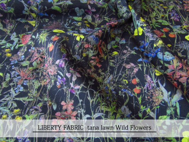 LIBERTY  タナローン * ≪Wild Flowers≫(ワイルドフラワーズ) 14-3634251-TDD-16G