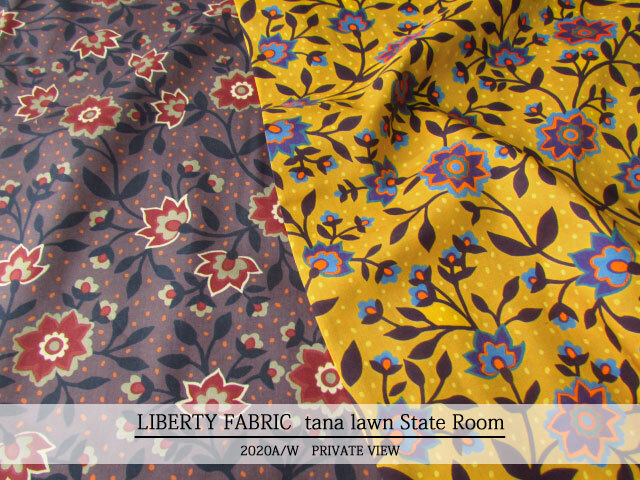 LIBERTY タナローン *2020 秋冬柄/PRIVATE VIEW*≪State Room≫(ステイトゥ・ルーム)2036302139-20