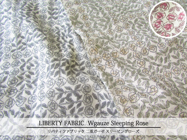 LIBERTY  ダブルガーゼ ≪SleepingRose≫(スリーピングローズ) 10-3630275-CV