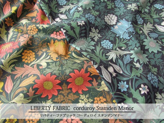 LIBERTY コーデュロイ(コール天) ≪Stamden Manor≫(スタンデンマナー) 20-23402114-CGA
