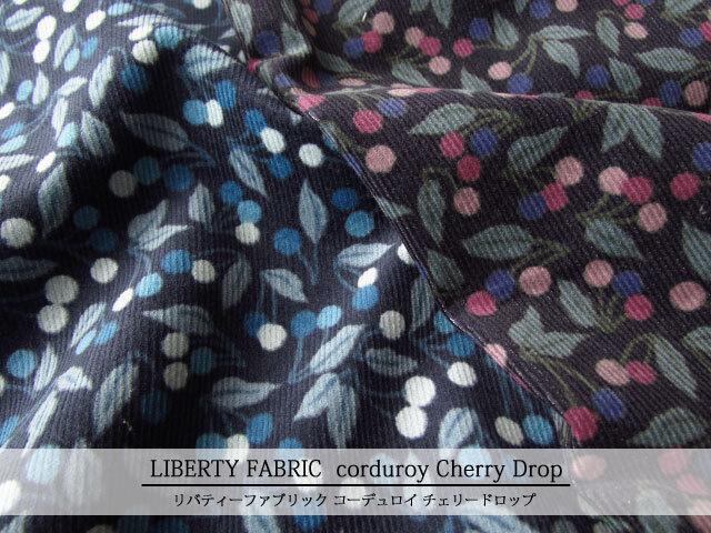 LIBERTY コーデュロイ(コール天) ≪Cherry Drop≫(チェリードロップ) 20-36302124-CGA