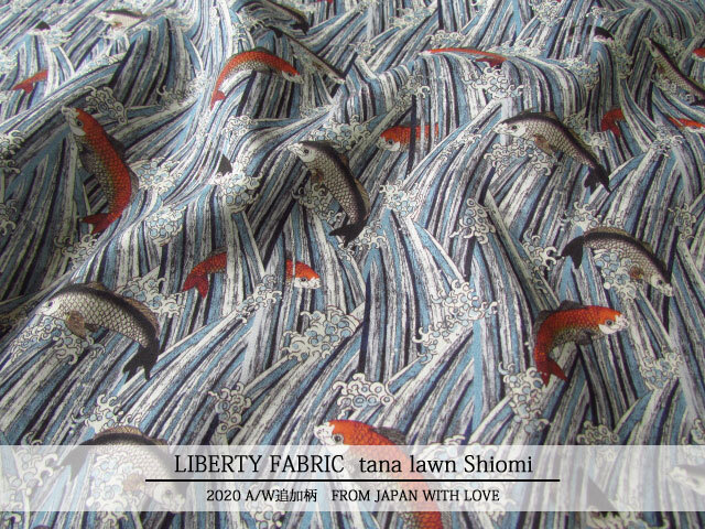 LIBERTY 輸入タナローン *2020 秋冬追加柄/FROM JAPAN WITH LOVE*≪Shiomi≫(シオミ)21-36311302-TDU-21AT