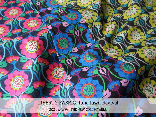 LIBERTY タナローン *2021 秋冬柄/THE NEW COLLECTABLE*≪Revival≫(リバイバル)21-3631202
