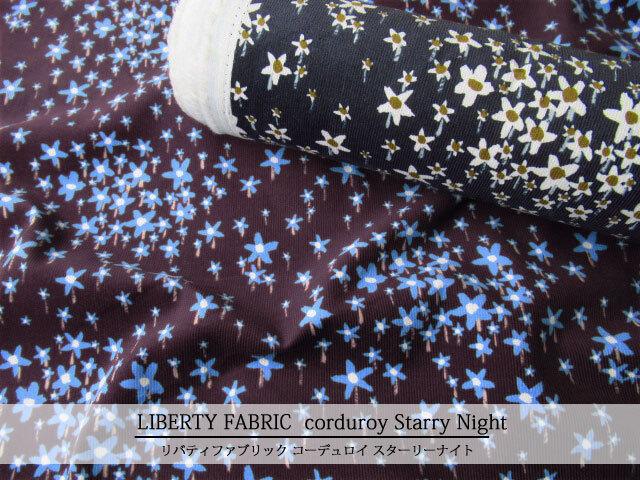 LIBERTY コーデュロイ(コール天) ≪Starry Night≫(スターリーナイト)21-3631239-21
