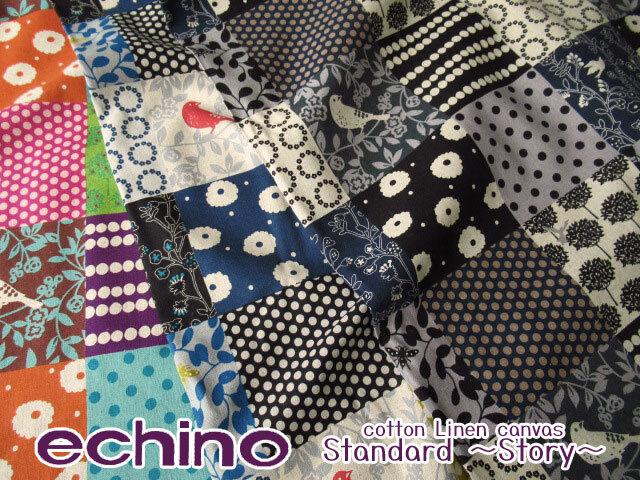 【綿麻キャンバス】 echino*Standard 『Story(ストーリー)』