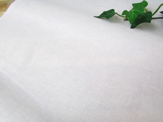 【コットン】  約92cm幅  キャラコ ホワイト