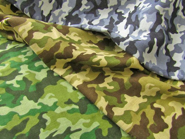 2回目の再入荷!【ふんわりWガーゼ】  **Camouflage**(カモフラージュ)