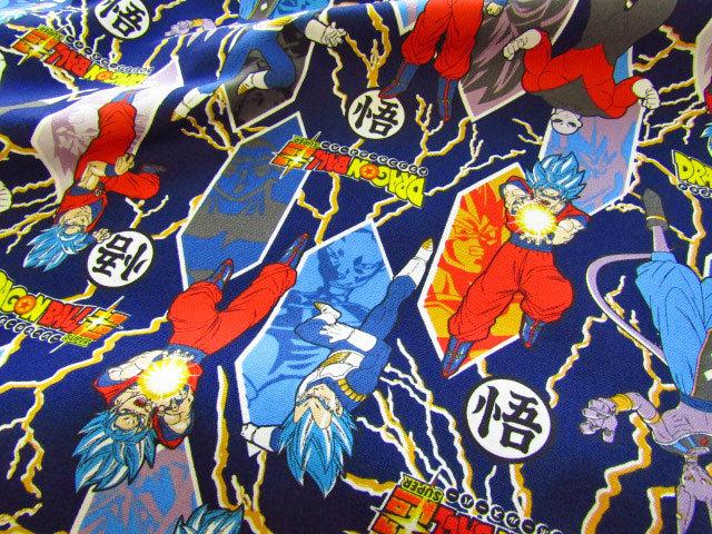【コットン オックス】 ☆ DRAGON BALL SUPER☆ ドラゴンボール超(スーパー) ☆  ダークネイビー
