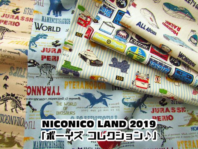 【コットン オックス】*NICONICO LAND 2019*『ボーイズコレクション♪』