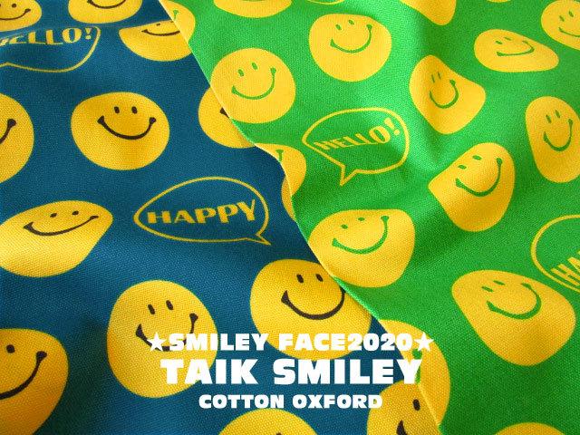 【コットン オックス】 SMILEY FACE 2020☆ 『 トークスマイリー 』