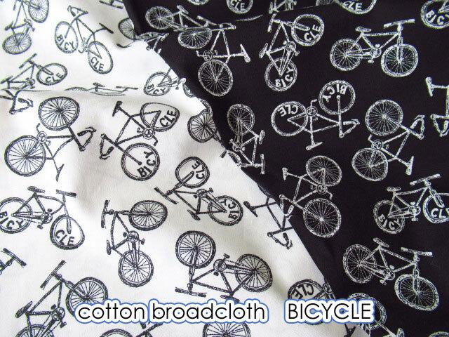 【コットン ブロード】 BICYCLE ◆ バイセコー
