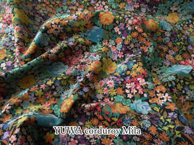 【シャツコールプリント】 ≪YUWA≫ 『Mila ( ミラ ) 』 ブラック系