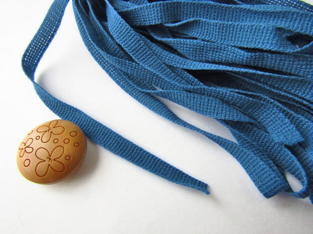 現品処分!アサヒ熊 スピンA(エース) ブルー 幅6mm×5m巻 【お一人様3点まで】