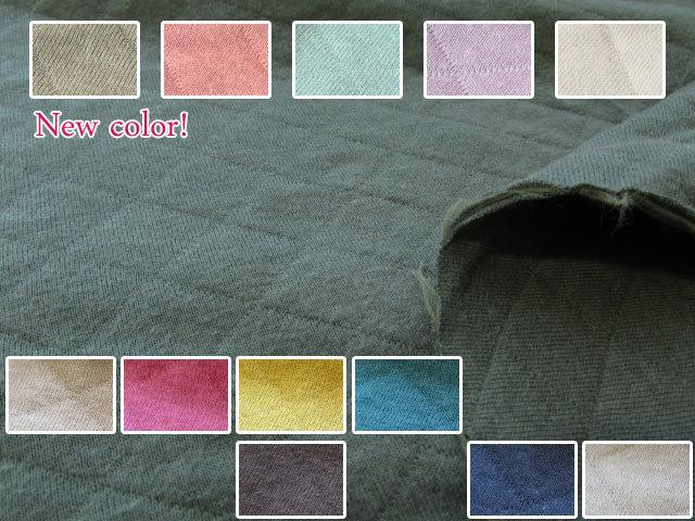 【75cm幅】 ** BASIC Quilt Knit ** ベーシックキルトニット