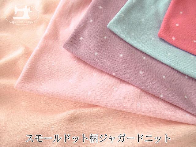 【メーカー放出反】 スモールドット柄ジャガードニット