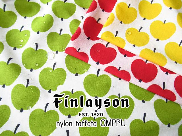 【弱撥水ナイロンタフタプリント】 Finlayson *OMPPU(フィンレイソン*オンップ)