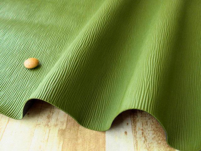 アウトレット! ≪バッグ向き≫楊柳風 抹茶色 約50cmカット