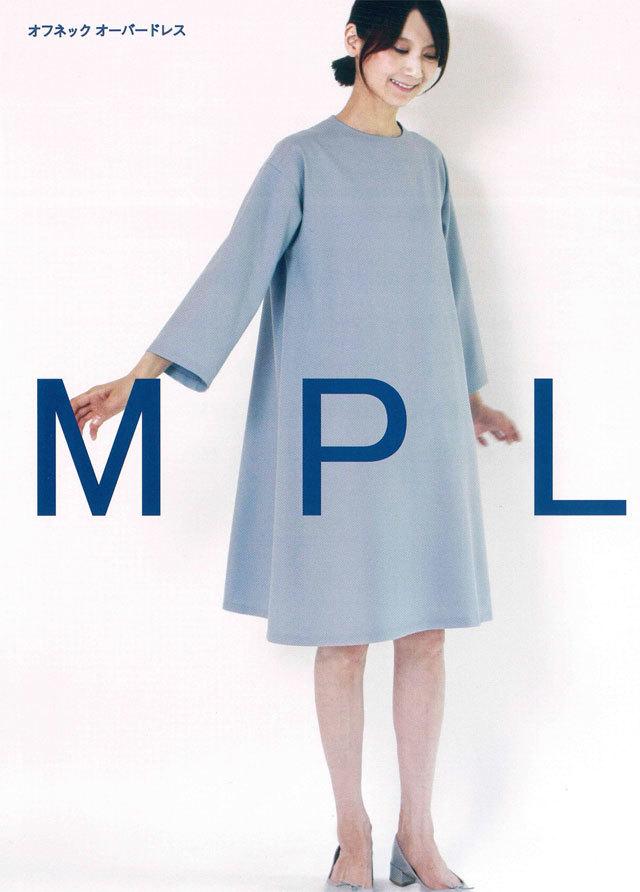 mパターン研究所 <オフネックオーバードレス> 【大人サイズ 】( M187 )