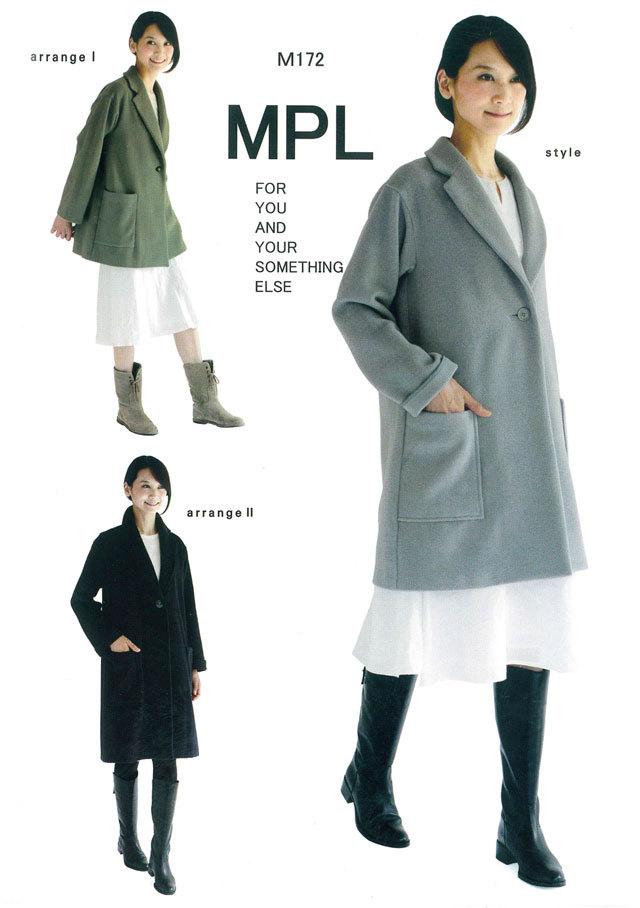 mパターン研究所 <チェスターコート> 【大人サイズ 】( M172 )