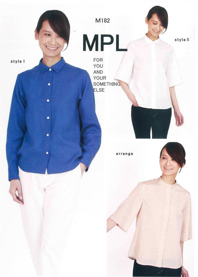 mパターン研究所 <ストレートシャツ> 【大人サイズ 】( M182 )