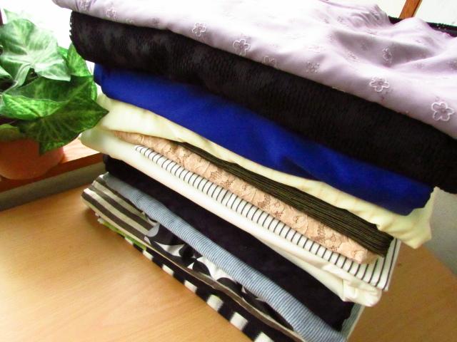 【箱サイズ中】サンキュウパック! 箱いっぱいできるだけ春夏生地 ニット・ストレッチ生地系セット