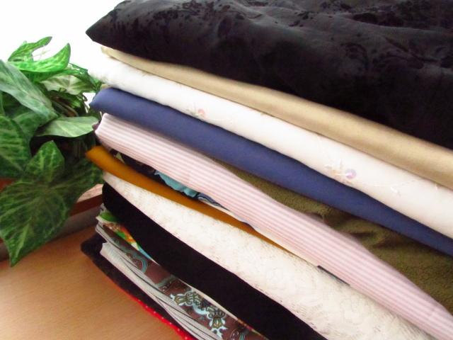 【箱サイズ中】サンキュウパック! 箱いっぱいできるだけ春夏生地 伸びない生地系セット