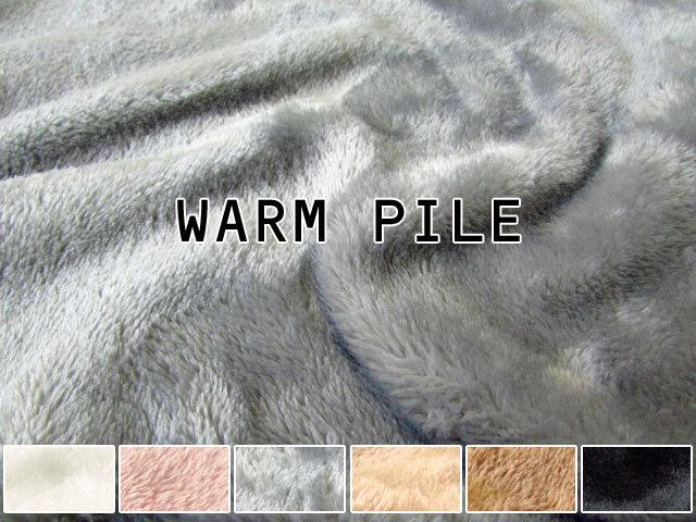 8回目の再入荷!+5.9℃上昇↑↑ WARM PILE ウォームパイル