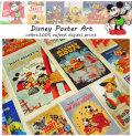 【コットンオックス】 ◆ Disney Poster Art (ディズニーポスターアート) ◆