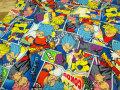 【コットン 20オックス】 ☆ DRAGON BALL SUPER☆ ドラゴンボール超(スーパー) ☆ 『 コミック 』 ブルー