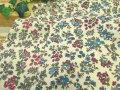 【コットン スケアー】  Antique◇Fluety Flower (アンティーク フルーティーフラワー)