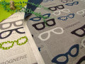 【コットン 11号ハンプ リバーシブル】  Glasses&Dot (グラッシーズ&ドット)