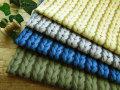 メリアス編み風 『Natural Color Imitation Knit (ナチュラル カラー イミテーション ニット)』【コットン 10番キャンバス】