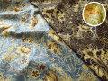 【コットン スケアー】 ≪YUWA≫ チンツ加工 ミュールズコレクション 『 エレガンスフラワー 』