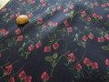 LIBERTY タナローン 2017 * 秋冬柄 『Garden of Temptaion』 * ≪Strawberry Fields≫◇(ストロベリー・フィールズ) 3637254-17C