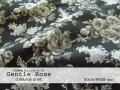 お買い得! 【シャツコールプリント】≪ YUWA ≫ 『 ジェントル ローズ 』 チャコールグレー