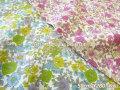 2回目の再入荷!お買い得! 【コットン 80ローン】 *Antique fleur(アンティーク フルール)*
