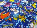 【コットン オックス】 ★☆POCKET MONSTERS SUN&MOON (ポケットモンスター サン&ムーン) ☆★ ブルー