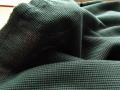 アウトレット!ジャガードニット(ボルドグリーン×ブラック〉 約1.5mカット