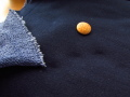 アウトレット!裏毛ニット (ネイビー×パープルブルー) 約1.5mカット