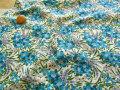LIBERTYリバティプリント シェラトンジャージ(タナジャージ)60/2天竺 *2018 春夏柄*≪ Swirling Petals ≫(スワイリング・ペタルス)3638150-18B