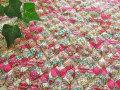 【キルティング】 コットン ツイル 『 Fancy Butterfl*ファンシー バタフライ 』 ピンク