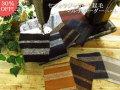 アパレル使用反! 杢糸調のボーダー部分がステキな生地が全9色!『 セフォラジャガード起毛 ◇マルチボーダーニット 』